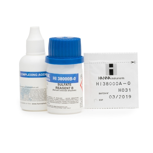 Sulfate Test Kit Replacement Reagents (100 tests) - HI38000-10