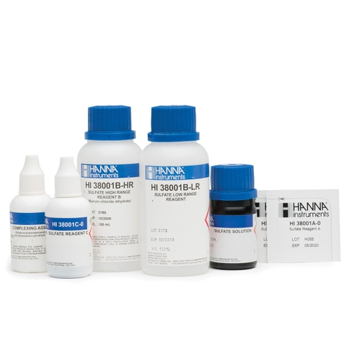HI38001 Sulfate Low and High Range Test Kit