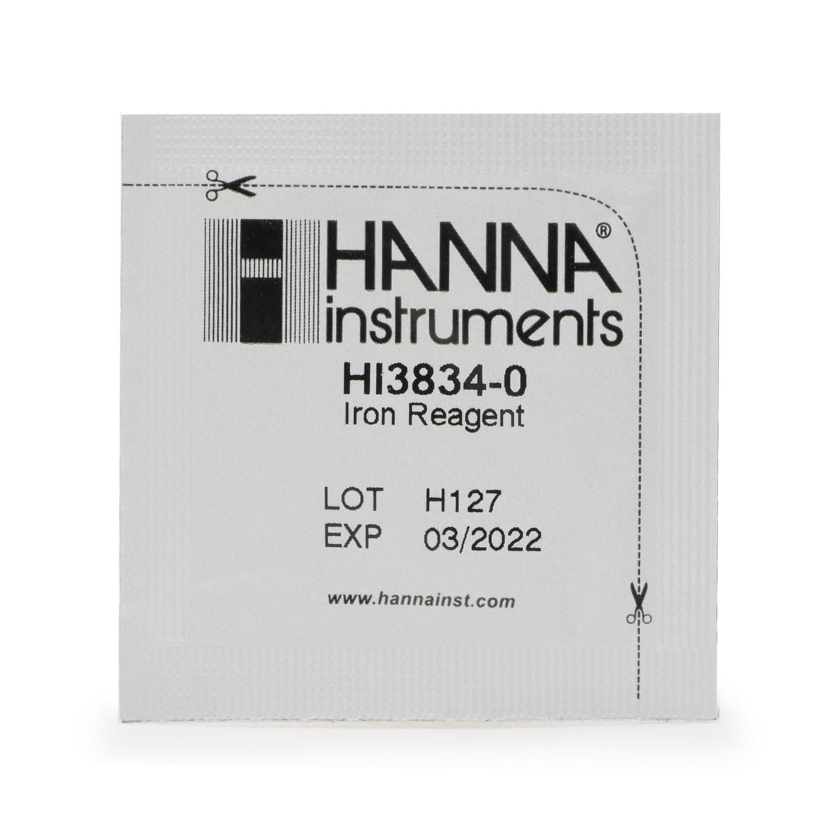 Iron (Low Range) Test Kit Replacement Reagents (100 tests) - HI38039-100