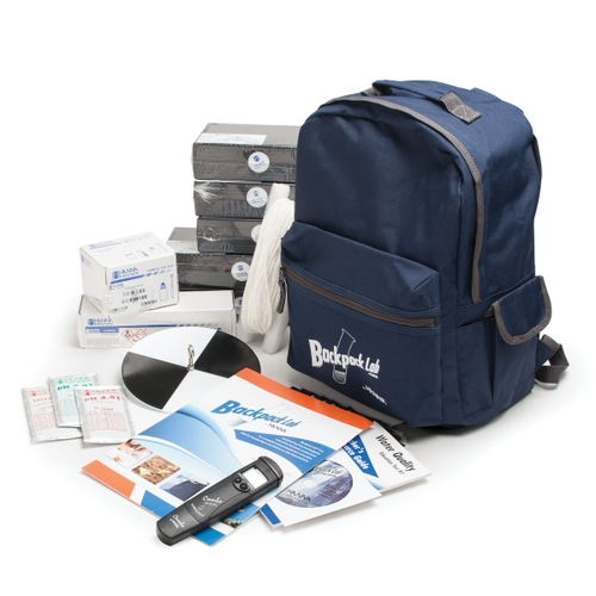 HI3817BP Backpack Lab Water Quality Educational Test Kit