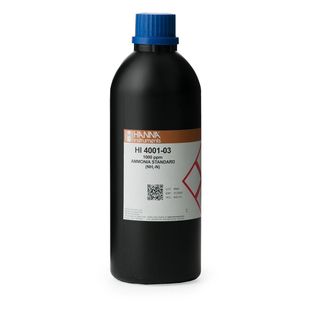 Ammonia ISE 1000 ppm Standard - HI4001-03