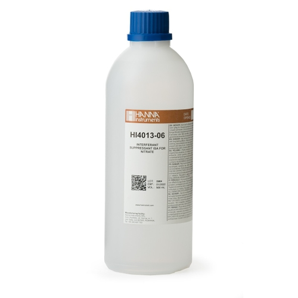 Interferent Suppressant ISA (ISISA) for Nitrate ISEs - HI4013-06