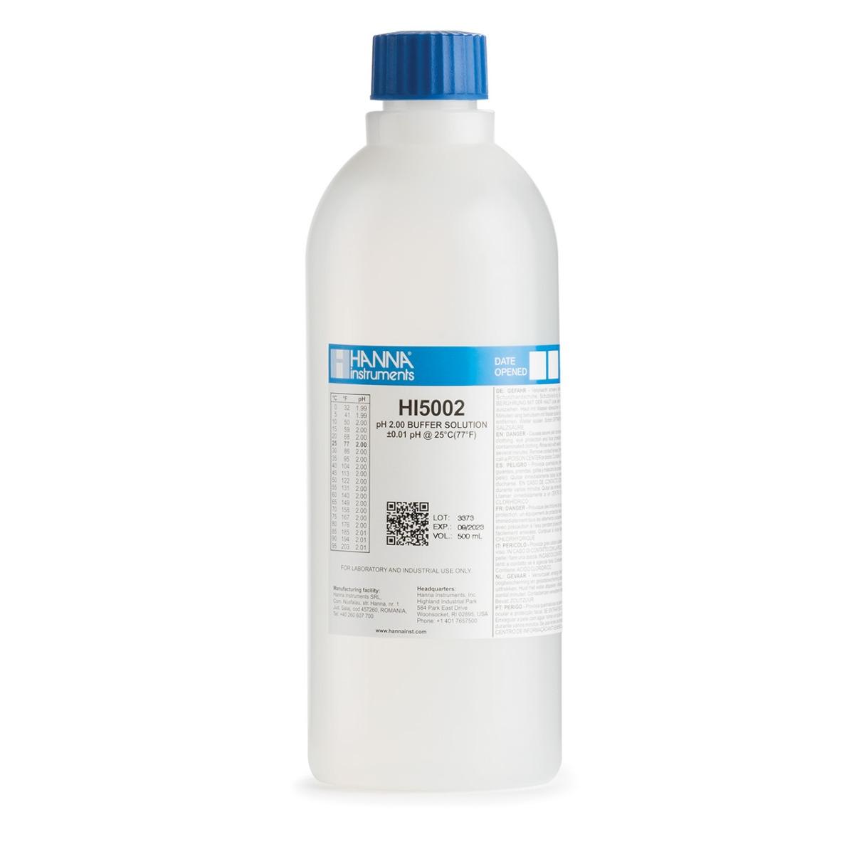 pH 2.00 technical calibration buffer