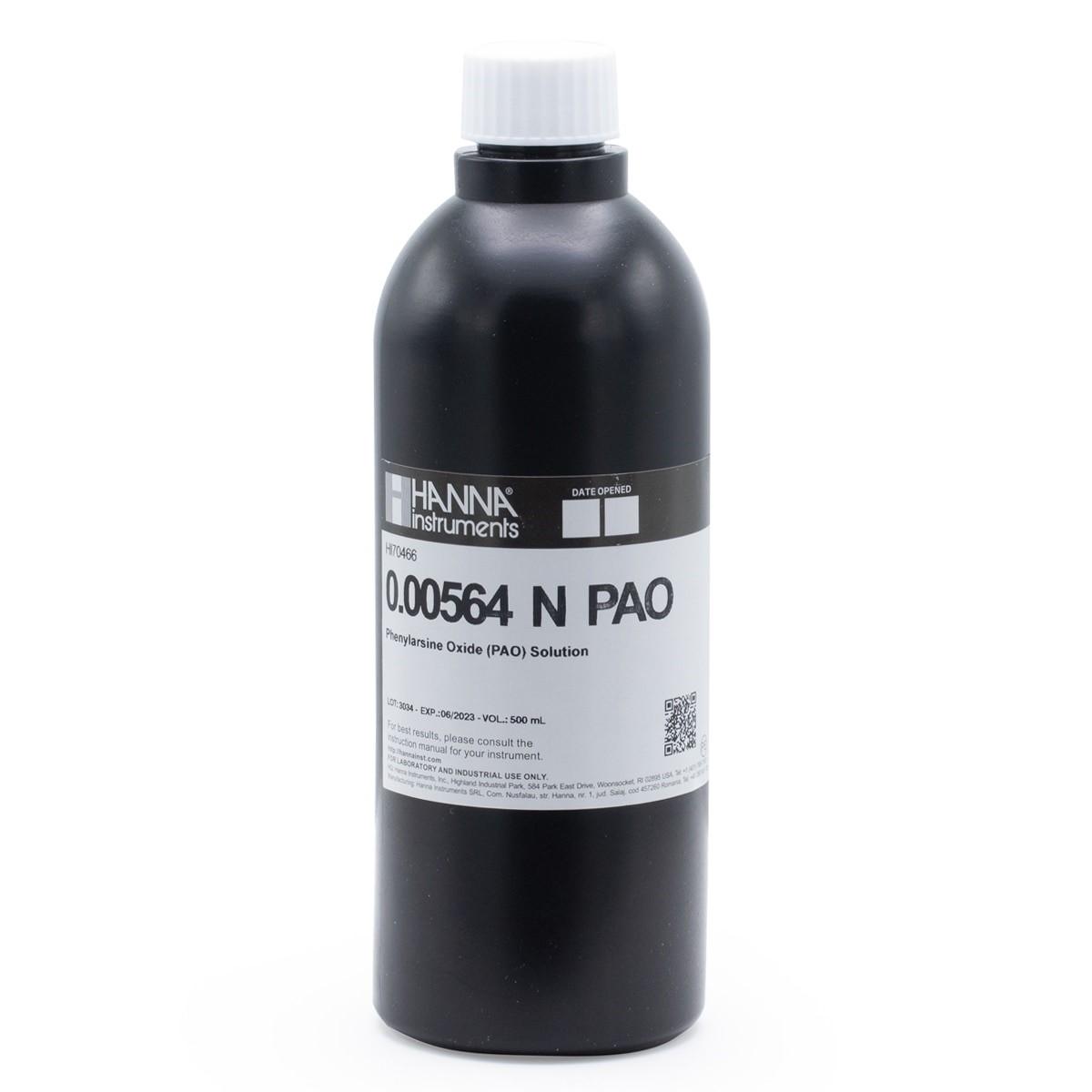 Phenylarsine Oxide (PAO) Solution (0.00564N), 500 mL - HI70466