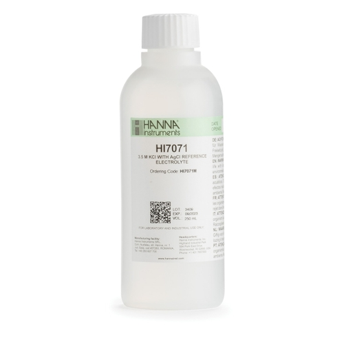 electrolyte, electrolyte solution, fill solution, KCl, electrode solution
