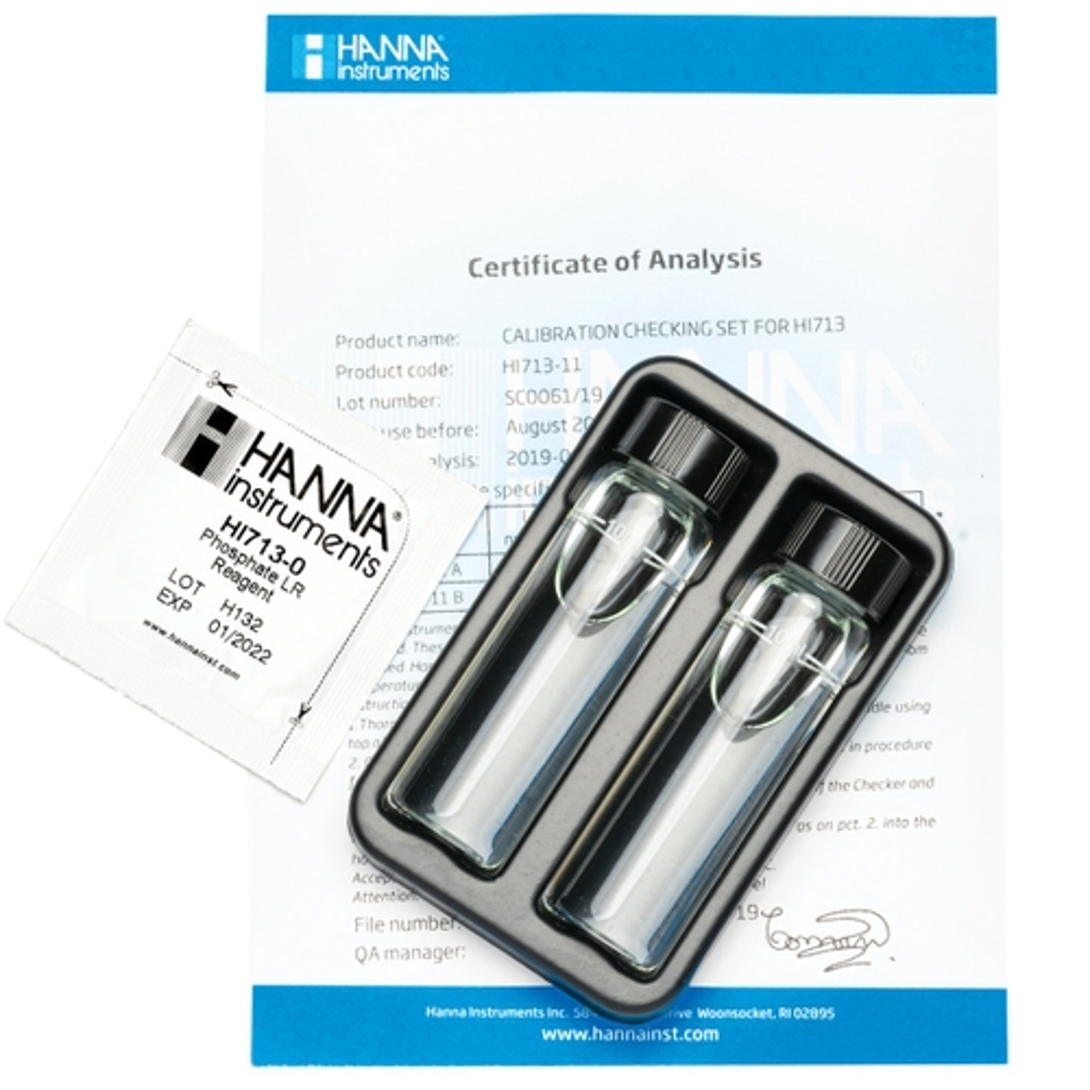 HI713-11 Phosphate Low Range Checker HC® Calibration Check Set