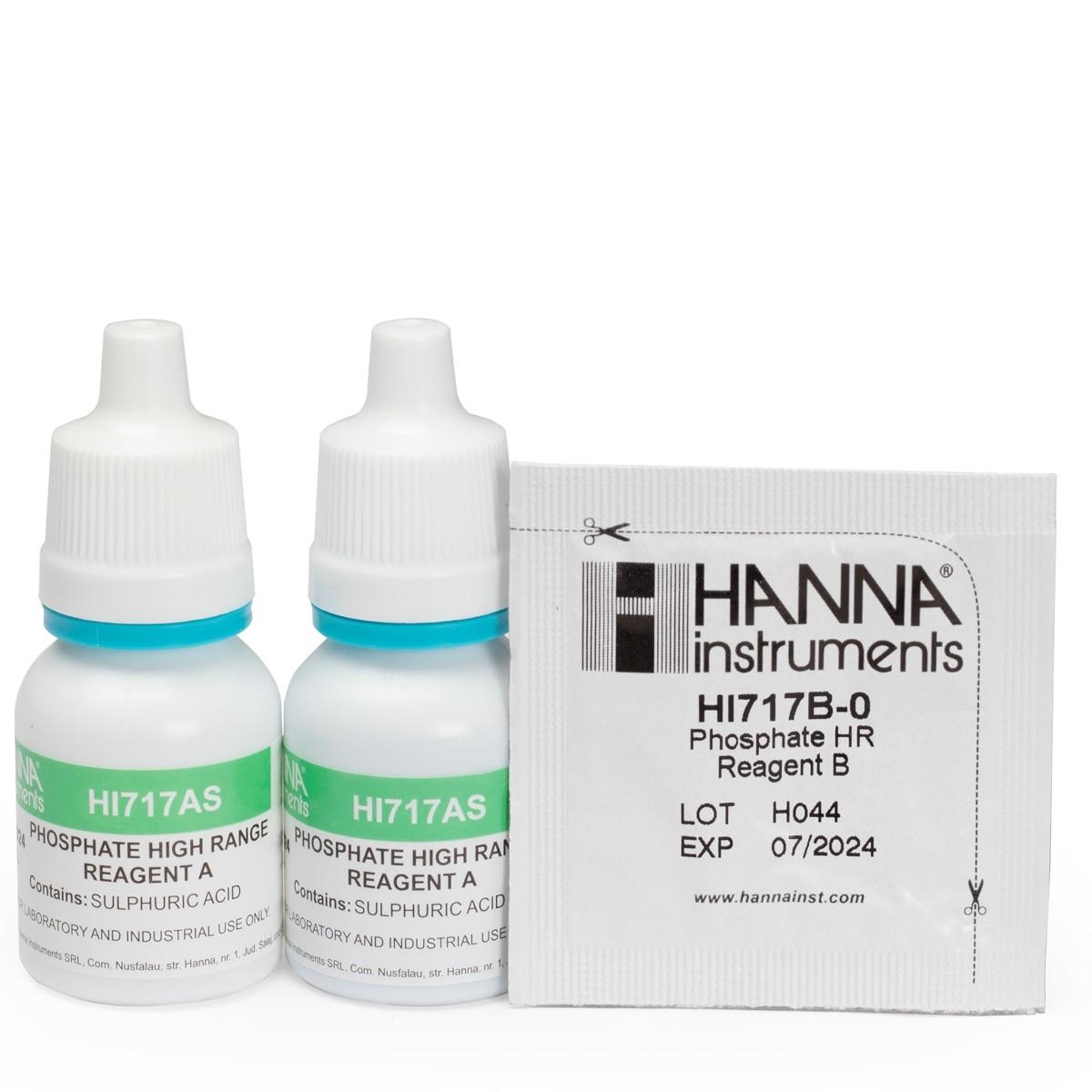 HI717-25 Phosphate High Range Checker® Reagents (40 tests)