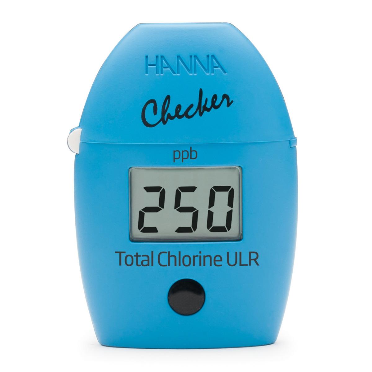Total Chlorine Ultra Low Range Checker® HC - HI761