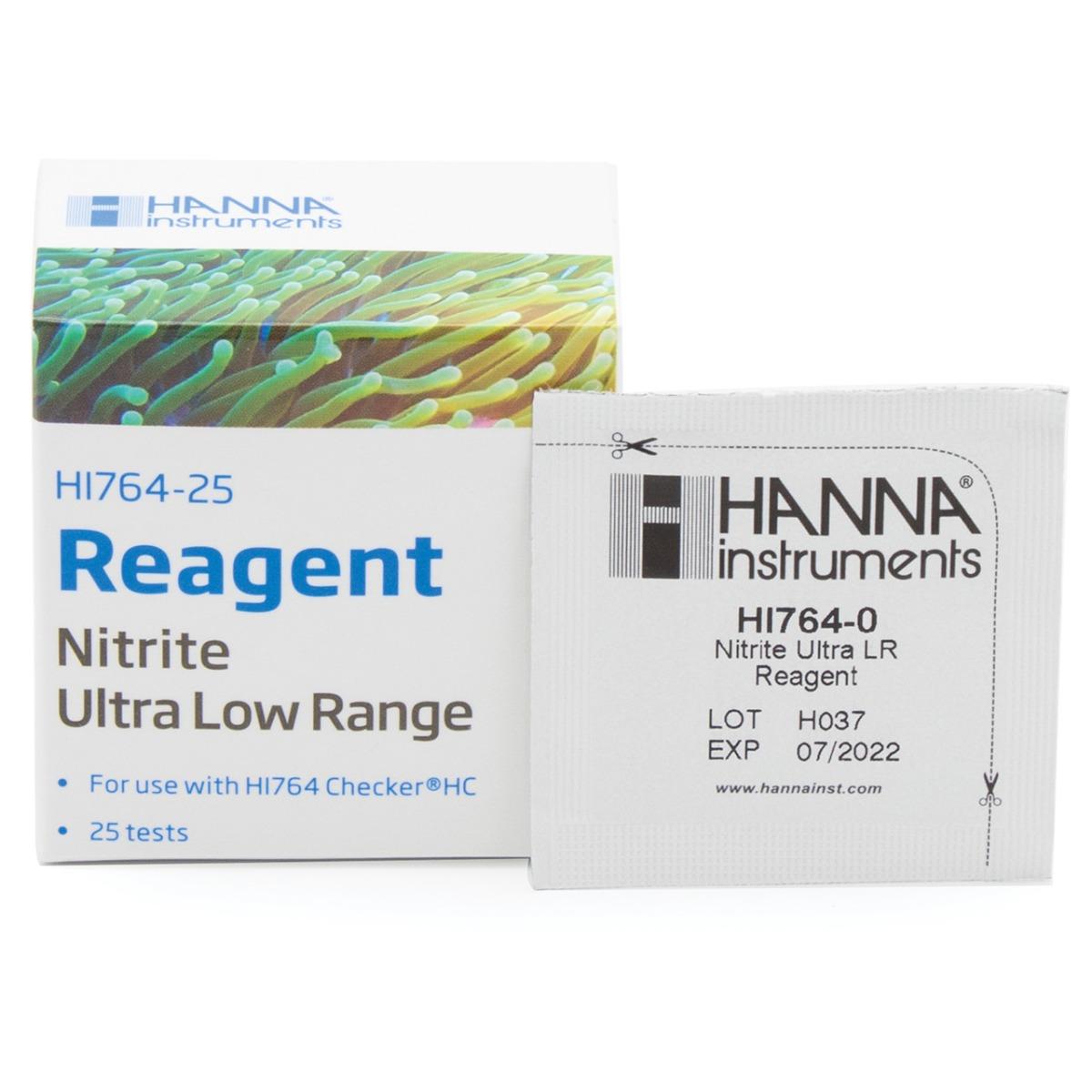 HI764-25 Nitrite Ultra Low Range Checker Reagents
