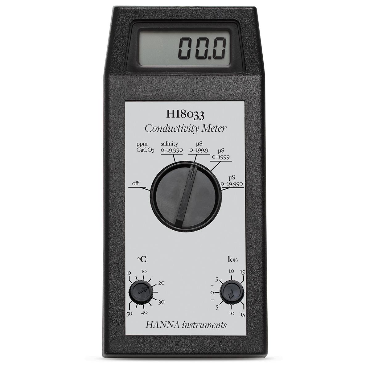 HI8033 Multi-Range Portable EC/TDS Meter