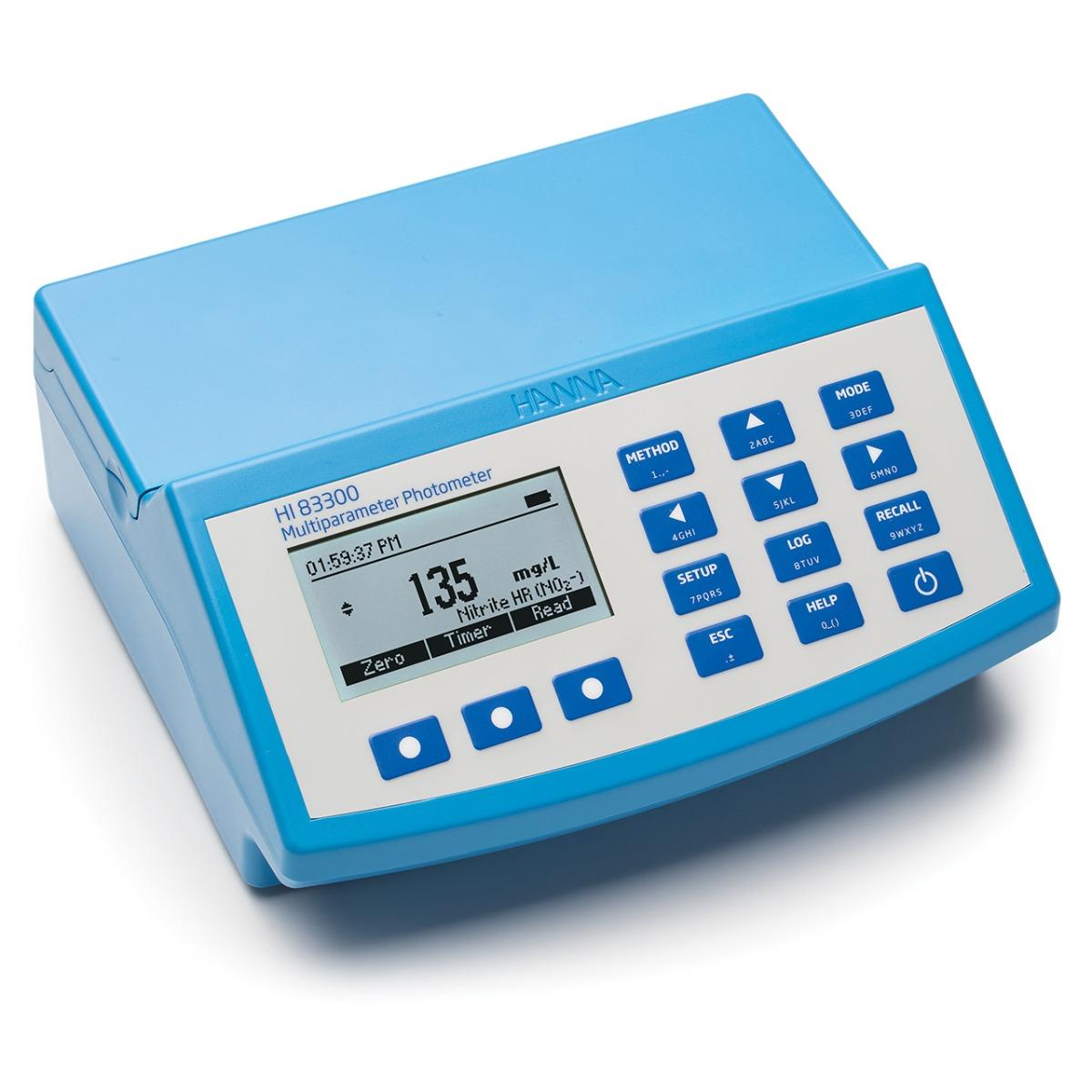 HI83300 Advanced Multiparameter Benchtop Photometer and pH meter