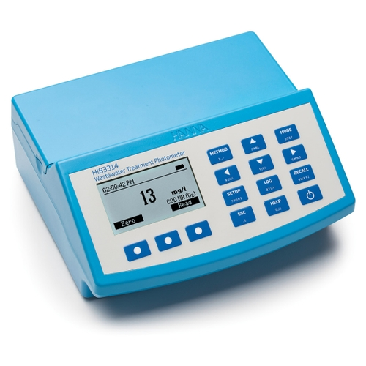 HI83314 Wastewater Multiparameter Benchtop COD Photometer and pH meter