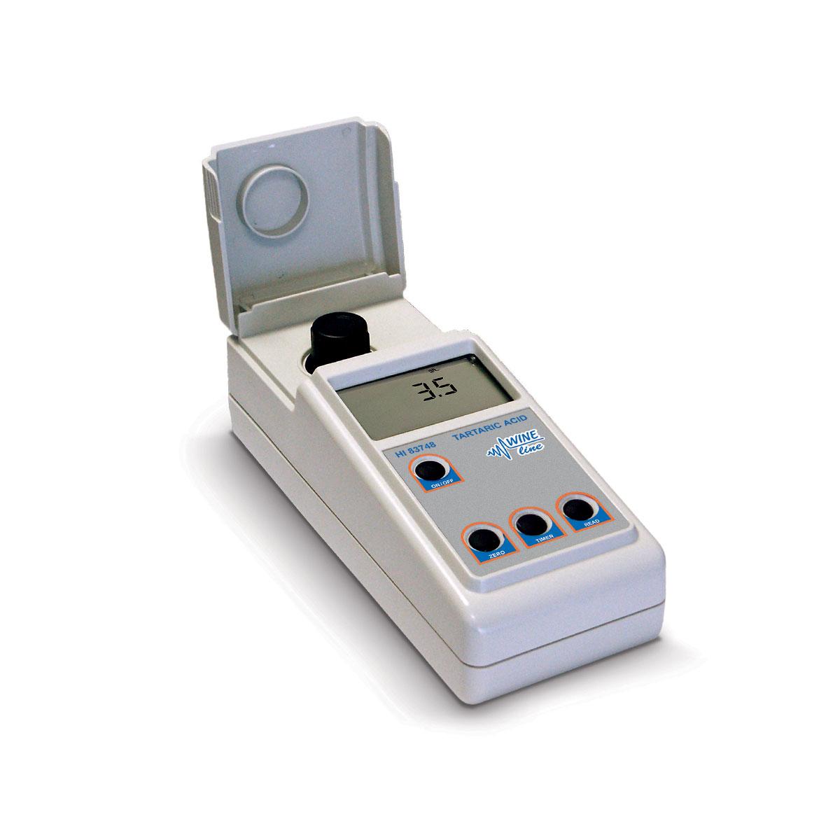 HI83748 Photometer for Tartaric Acid in Wine