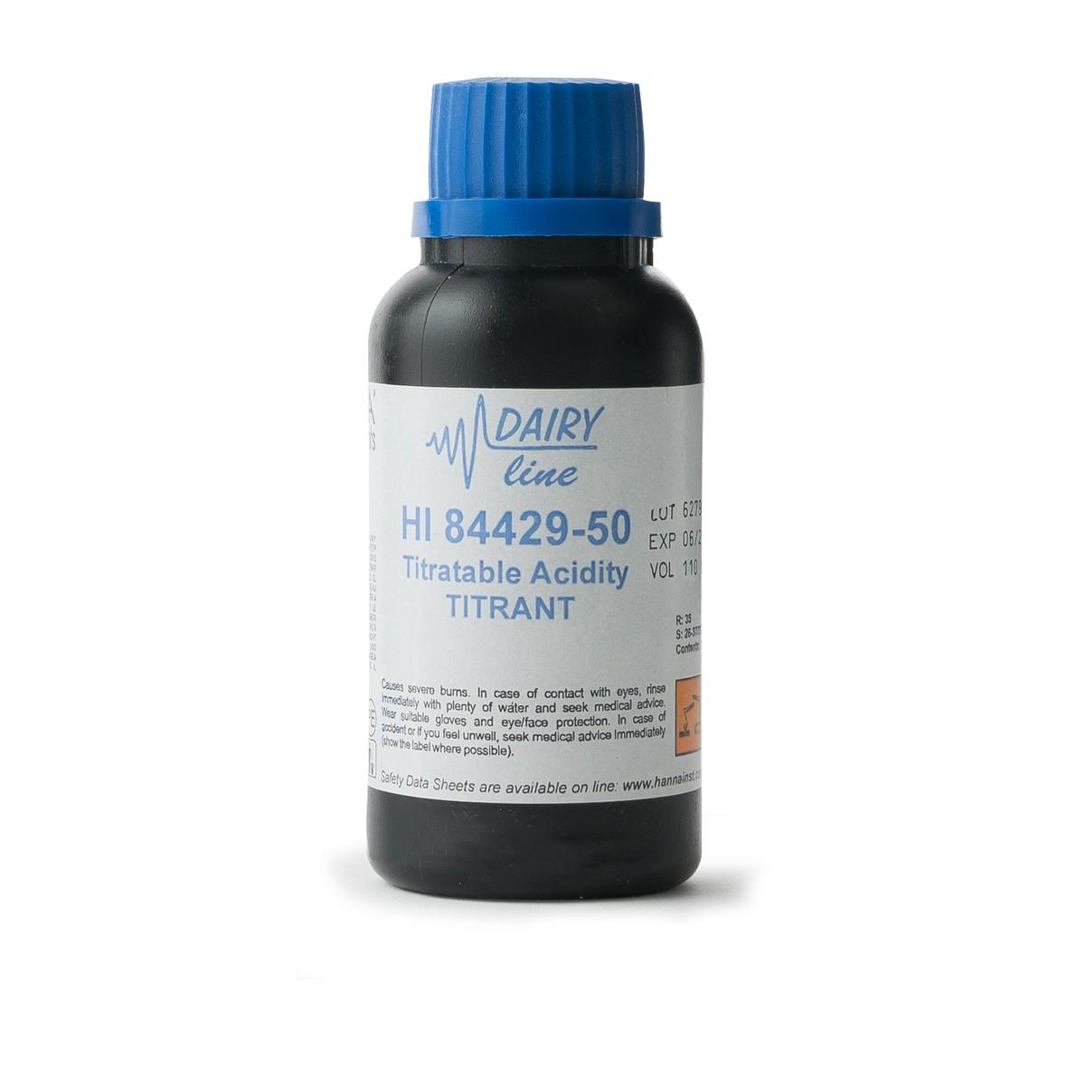 Titrant for Titratable Acidity - HI84429-50