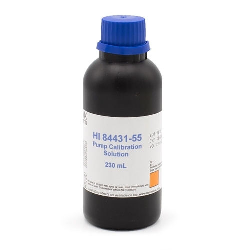 Pump Calibration Solution for Titratable Alkalinity in Water Mini Titrator - HI84431-55M