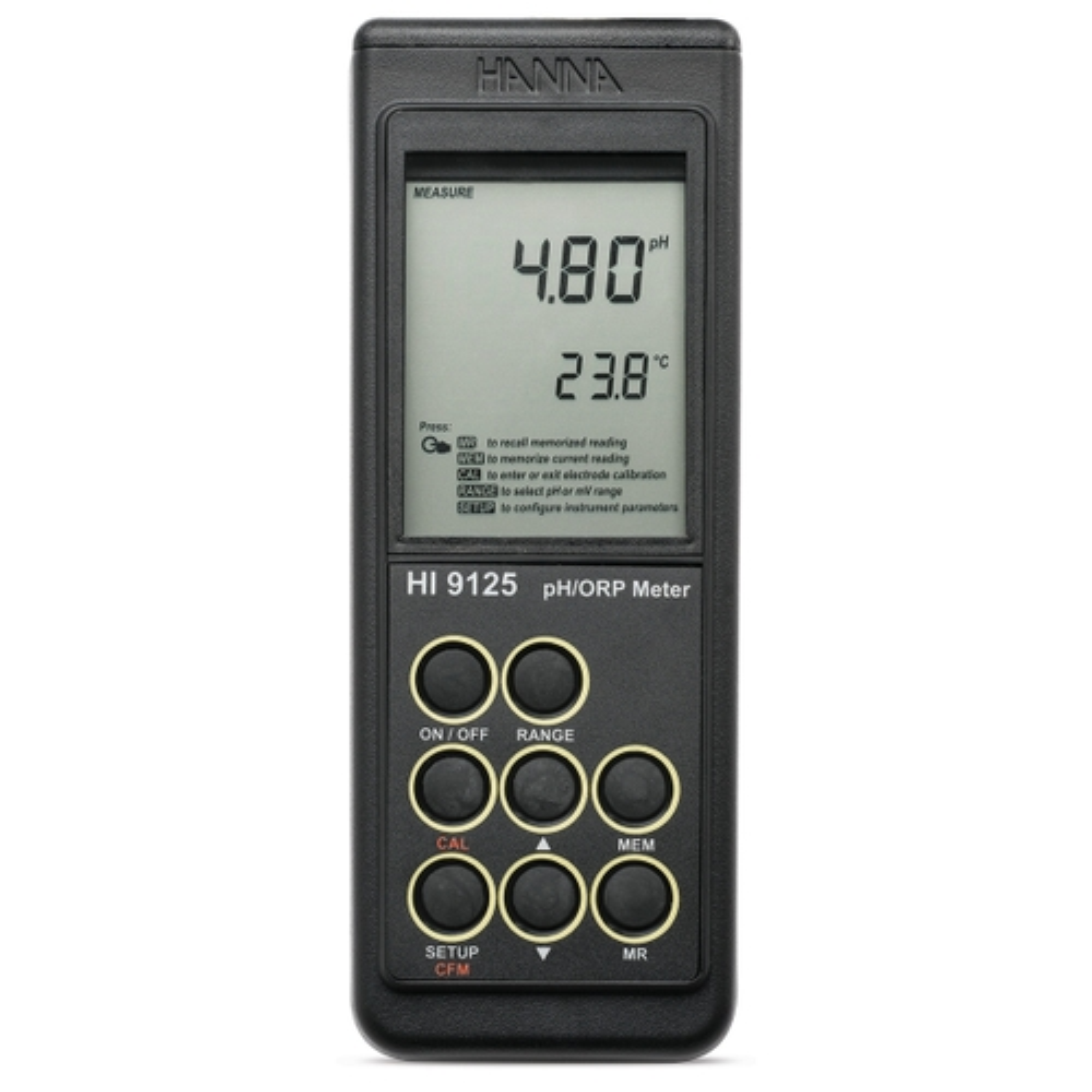 HI9125 Waterproof Portable pH/mV Meter