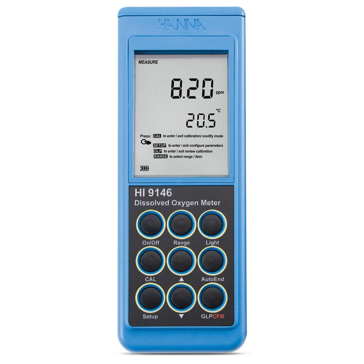 HI9146 Portable Dissolved Oxygen Meter