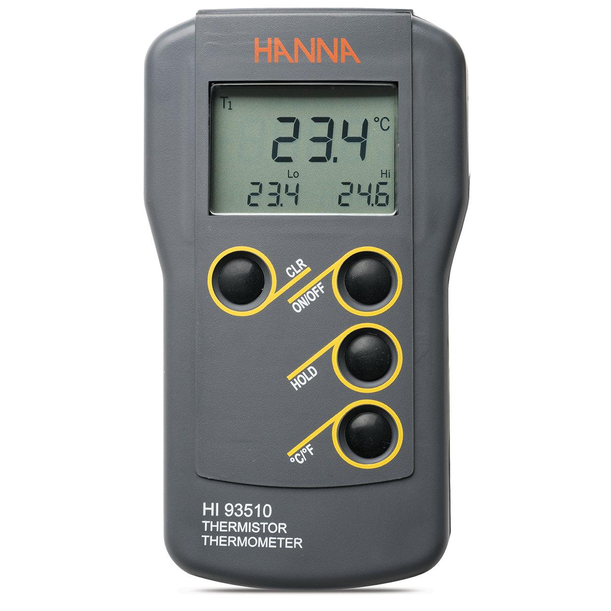 HI93510 Waterproof Thermistor Thermometer