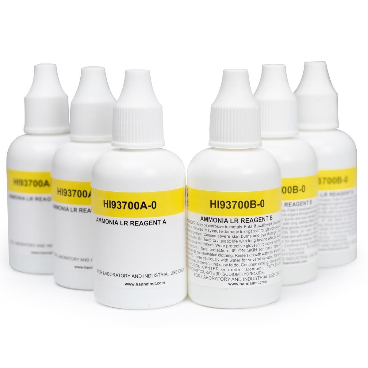 HI93700-03 Ammonia LR Colorimetric Reagents (300 tests)