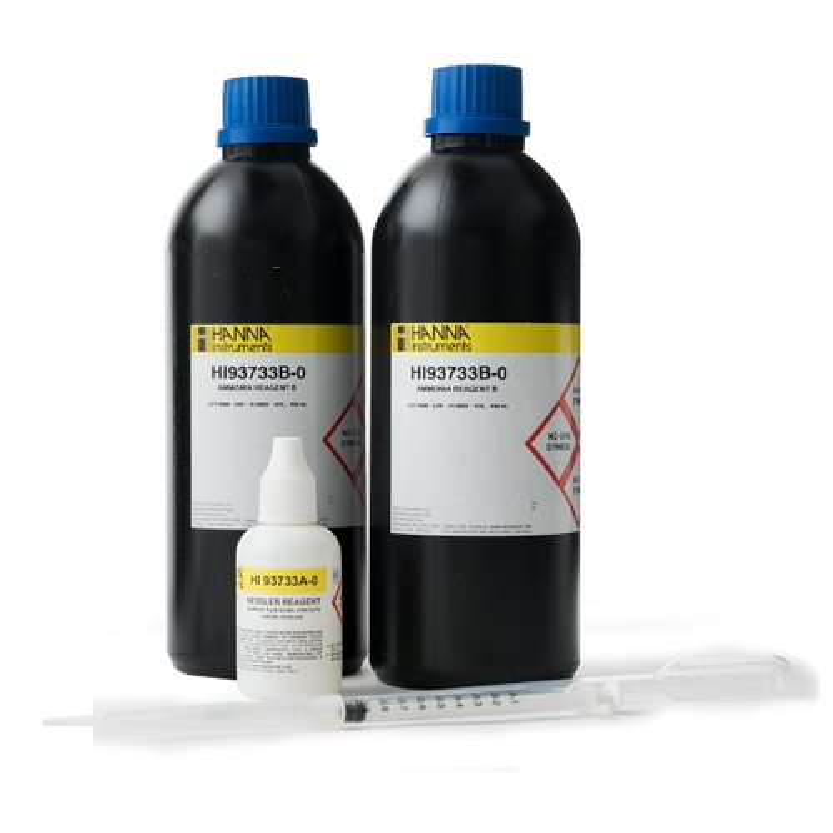 Ammonia High Range Reagents (100 tests) - HI93733-01