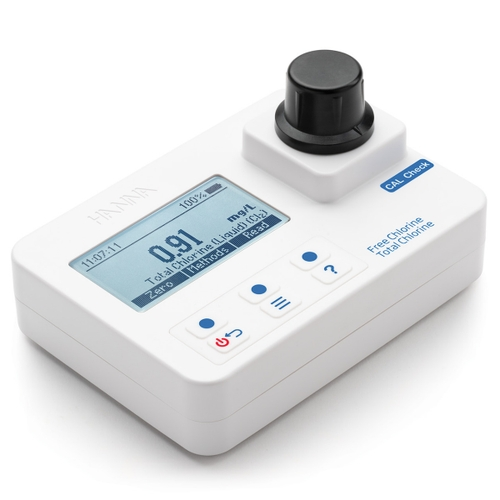 HI97711 Free and Total Chlorine Portable Photometer with CAL Check
