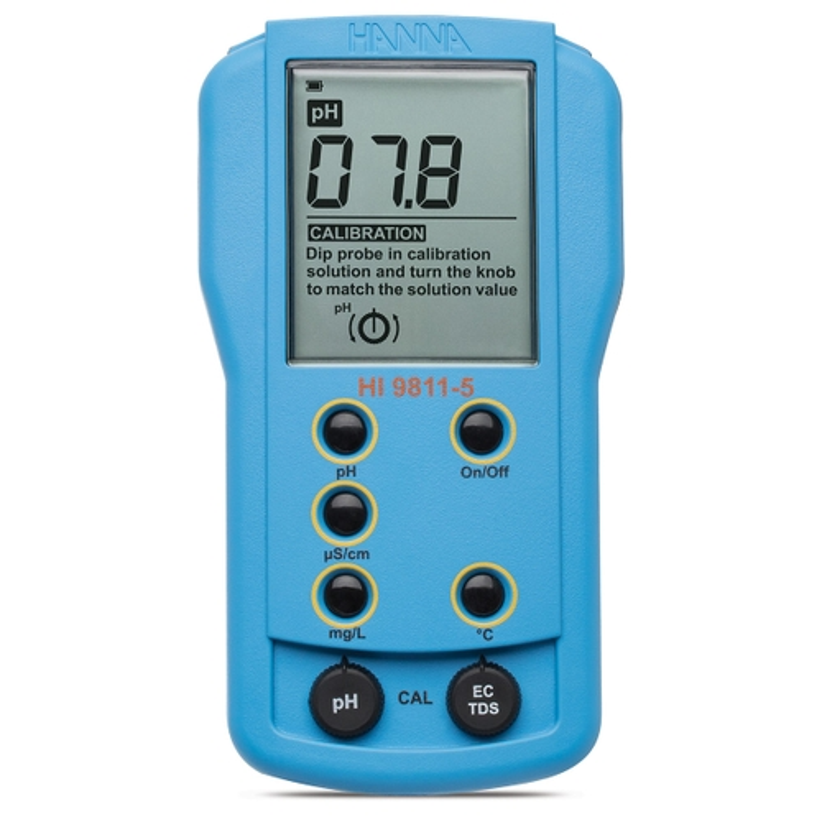 HI9811-5  Portable pH/EC/TDS/Temperature Meter