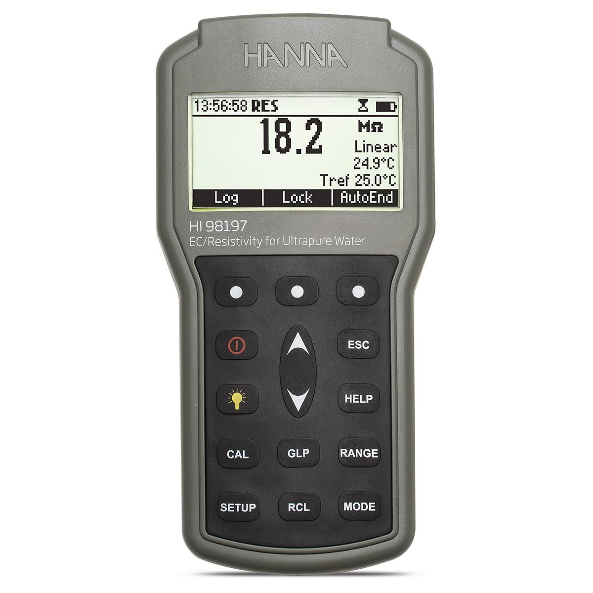 HI98197 Ultra Pure Water Waterproof Portable Meter