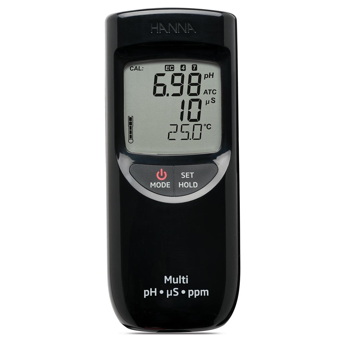 HI991300 Portable Waterproof pH/EC/TDS Meter (Low Range)