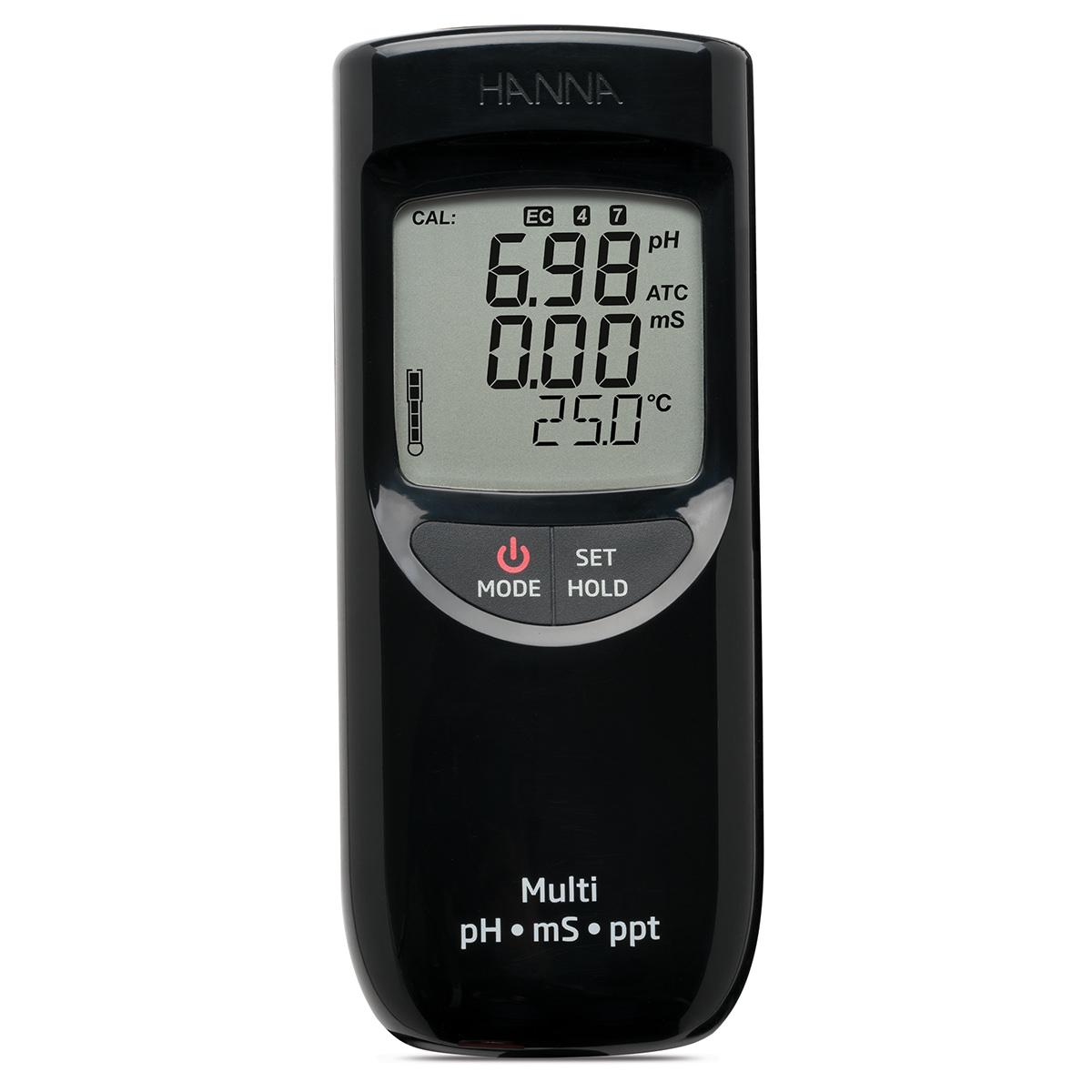 HI991301 pH/EC/TDS/Temperature Meter
