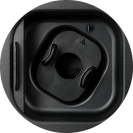 iris Cuvette Round Adapter